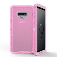 Defender Case For Samsung Note 9 Hybrid Clear Heavy Duty Sho...