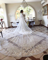 Luxury Crystal Bridal Wedding Cloaks Bolero Cape Sequins Wra...
