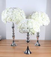 Ballon de fleurs artificielles 45cm bricolage Toutes sortes de fleurs de mariage de mariage décoration de soie Mur de l'hôtel boutique fenêtre accessoires