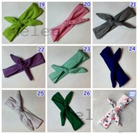 30PCS Cotton girl baby Turban Twist Headband Head Wrap Twist...
