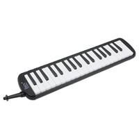 Zwart 37 Piano Keys Melodica Pianica W / Draagtas voor studenten Nieuwe E6J2