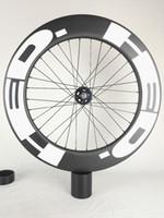 HED الكربون عجلات ضربات 90mm الثابتة والعتاد المسار الدراجة الكربون الدراجات عجلة 700C 25MM عرض المسار الدراجة الثابتة والعتاد للبيع