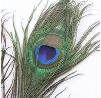 70 -80 cm Genuine natural pavão penas elegantes acessórios decorativos para decoração de festa 200 pcs / lote