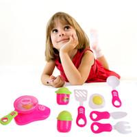 Cocina Cocina Juguete para niños Bricolaje Belleza Plástico Cocina Juguete Juego de roles Juego de juguetes Los niños pretenden jugar Juguetes educativos Rojo Rosa