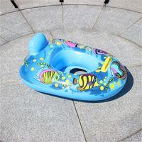 Río de verano Natación Natación Vestir chaleco Boya Bebé Pequeño Yate Inflación Niños Asiento Seguro Anillos Nadar Círculo Agua 3 8qh II