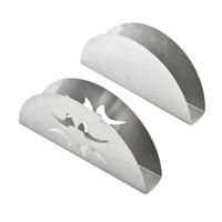 vente en gros en acier inoxydable comptoirs autoportants support de serviette de cuisine porte-serviettes en papier supporte outil de cuisine LZ1194