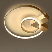 Минималистская Мода современная светодиодная люстра Крытый украшения дома люстра свет водить Kroonluchter для кабинета Потолочные светильники