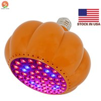 48W E27 E26 LED Grow light Pumpkin Shape light Full Spectrum...