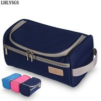 LHLYSGS Brand Men Travel Fashion Cosmetic Bag Women High Cap...