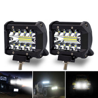 2pcs Safego 4 Inch 60W Spot Beam Work Light LED Chips Off- ro...
