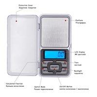 200pcs / lot by DHL Fedex0.01G 200G LCD Digital Pocketing Bealance Bilancia Bilancia con scatola di vendita Prezzo di fabbrica