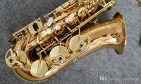 Neue Marke Vergoldet YANAGISAWA A-992 WO20 Altsaxophon Professionelle Musikinstrumente Sax Mit Mundstück, Fall, Zubehör
