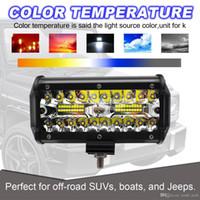 freies Verschiffen yentl 4WD SUV, das Nebel-Licht für Bootsjeep suvs 120W LED Arbeits-Lichtstrahl-Flut-Punkt-Strahl nicht für den Straßenverkehr antreibt