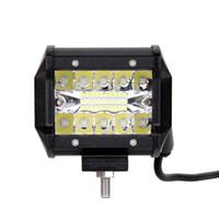 """ECAHAYAKU 20Pcs 4 """"pollici 60W Car LED light bar Luci di guida fendinebbia Led luce di lavoro per fuoristrada SUV Jeep 4WD Traiiler"""