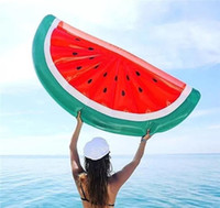 183*79*20cm Giant Inflatable Half Watermelon Floating Row Ai...
