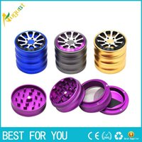 2018 HORNET Wheel Air Craft Grade Aluminum Tobacco Herb Grin...