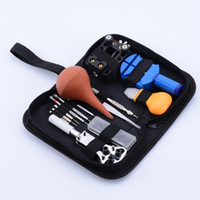 14PCs Set Professional Watch Repair Tool Kit Portable Watchm...