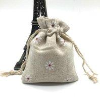 Подарочные пакеты Daisy Drawstring сумки, белье 8x9. 5cm подарочный мешок упаковка хранения белья ювелирные изделия мешки мешки