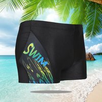 Men swimwear print polyester swimming trunks 2XL, 3XL, 4XL m...