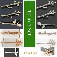 Tamax HF001 12pcs Golden Silvery Hairpins Sale Tree Branches...