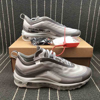 New Arrival 97 OG Sports Shoes Cool Silver Bullet Design Run...