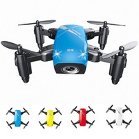 Mini Rc Drone With Camera Flying Helicopter Selfie Drones On...