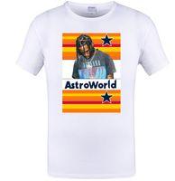 AstroWorld Casual Tee для мужчин Женщины Лето New Hot Sale Одежда Хлопок Топы Tee