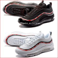 Best New Mens Sneakers Shoes 97 Undefeated x OG Women Runnin...