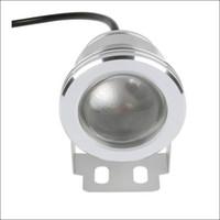 Fuente lámpara de plateado 10W LED luz subacuática luces LED DC AC 12V 24 teclas IR controlador remoto a prueba de agua IP68