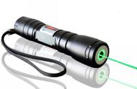 Hoher leistungsfähiger tragbarer Laser-Zeiger des grünen Laser-Zeiger-532nm mit 5 Kappen für das Angeben kampierender Tätigkeit Laser-Show im Freien Freies DHL