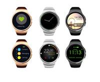 Original KW18 Bluetooth Smart Uhr Vollbild Unterstützung SIM TF Karte Smartwatch Telefon Pulsmesser für ios Andriod Telefon