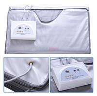 2-х зонная пихта для сауны с инфракрасным излучением для похудения для тела Одеяло для сауны Нагревательная терапия Тонкая сумка SPA Детский аппарат для похудения