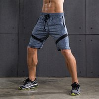 Wholesale- 3 Colors Running Shorts Male Outdoor Fitness Gym S...