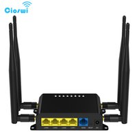 WIFI Routeur 3g 4G Modem Double Bande 11AC WIFI 128 Mo Openwrt Routeur Sans Fil Avec Carte SIM Slot Version Anglaise WE826