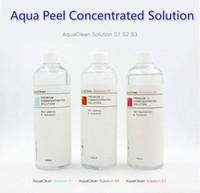 2018 Yeni Geliş Aqua Peel Konsantre Çözüm 400ml Başına Şişe Aqua Yüz Serum Hydra Yüz Serum For Normal Skin Aqua Clean Çözümü