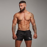 Mens Gym Fitness Shorts Man Bodybuilding Run Jogging Workout...