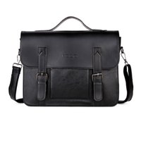 Leather Men Business Shoulder Fashion Vintage Crossbody Bags Messenger Bag New Briefcase For Male Casual Handbags