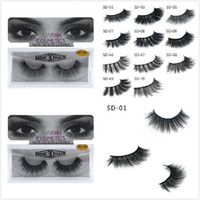 New 3D Mink Eyelashes Eyelashes Messy Eye lash Extension Sex...