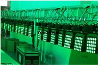 6PCS / lot 25 adet kare yol hareket eden kafa Magic panel 25x10w RGBW far hareket matris görüşü engelleyen ışın Sonsuz yol