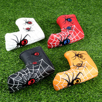 Spider with Silver Web Embroidery Headcover for Blade Golf P...