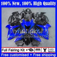 Body For SUZUKI Hayabusa GSXR1300 08 09 10 11 19MY30 GSX R1300 12 13 14 15 GSXR 1300 Blue black 2012 2013 2014 2015 Fairing Bodywork