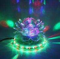 RGB Led Bühnenlicht Auto Rotierenden Discokugel Lampe Wirkung Magic Party Club Lichter für Weihnachten Haus KTV Weihnachten Hochzeit Pub Show Pub