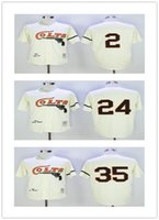 men' s Houston Colts Baseball Jersey Retro 35 Joe Morgan...