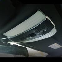 Alliage d'aluminium garniture de couvercle de décoration de trame Lampe de lecture pour toit de la voiture Mercedes Benz classe E W212 180 200 260 2010-15
