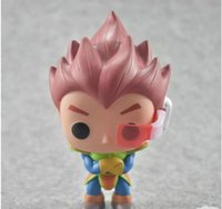 Funko Pop Dragon Ball Z Goku Super Saiyan Dio pianeta Arlia Vegeta Vinyl Action Figure con confezione regalo