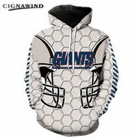 New Fashion Coppia Unisex New York Giants Relay Team 3D Print Casual Sport Felpe con cappuccio Felpa giacca Pullover