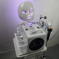 6 em 1 Bio RF Martelo Frio Hydro Microdermoabrasão Água Hydra DermaaBrasion Spa Facial Pele de Pea Máquina de Limpeza
