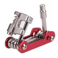 11 في 1 المحمولة متعددة الوظائف إصلاح دراجة أداة كيت MTB دراجة جبلية خدمات الإصلاح أداة مجموعة الصلب الدراجات متعدد أدوات إصلاح