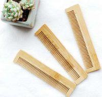 1 قطع عالية الجودة تدليك مشط خشبي الخيزران الشعر تنفيس فرشاة فرش العناية بالشعر والجمال سبا مدلك بالجملة