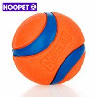 HOOPET собака резиновые шарики пинбол и мяч упаковка оранжевый резиновый сопротивление укусить моляры игрушки Зоотовары